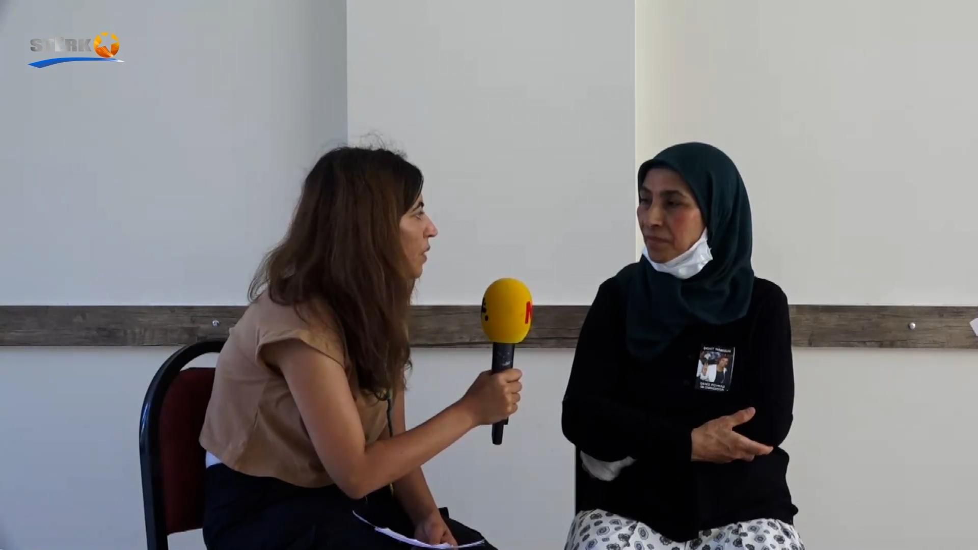 Dayika Deniz Poyraz Fehîme Poyraz: 'Keça min şehîdê Kurdistanê ye, ez bi şehadeta keça xwe serbilind im'